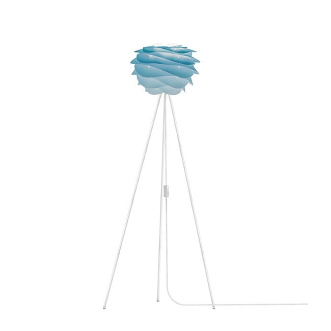 Umage Carmina Azure (Mini) - Floor Lamp (White Stand)