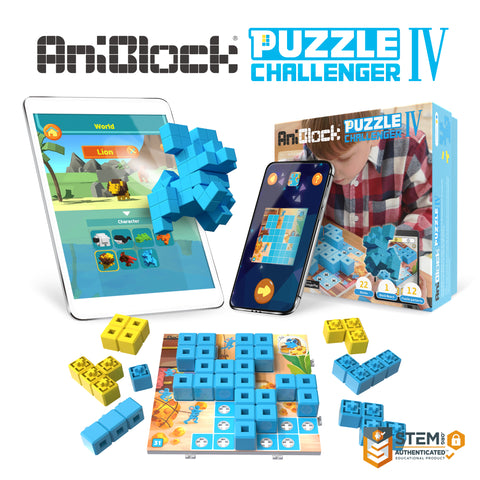 AniBlock Puzzle Challenger IV