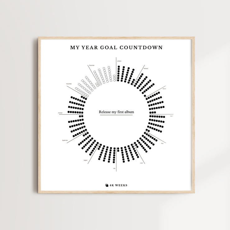 My Year Goal Countdown