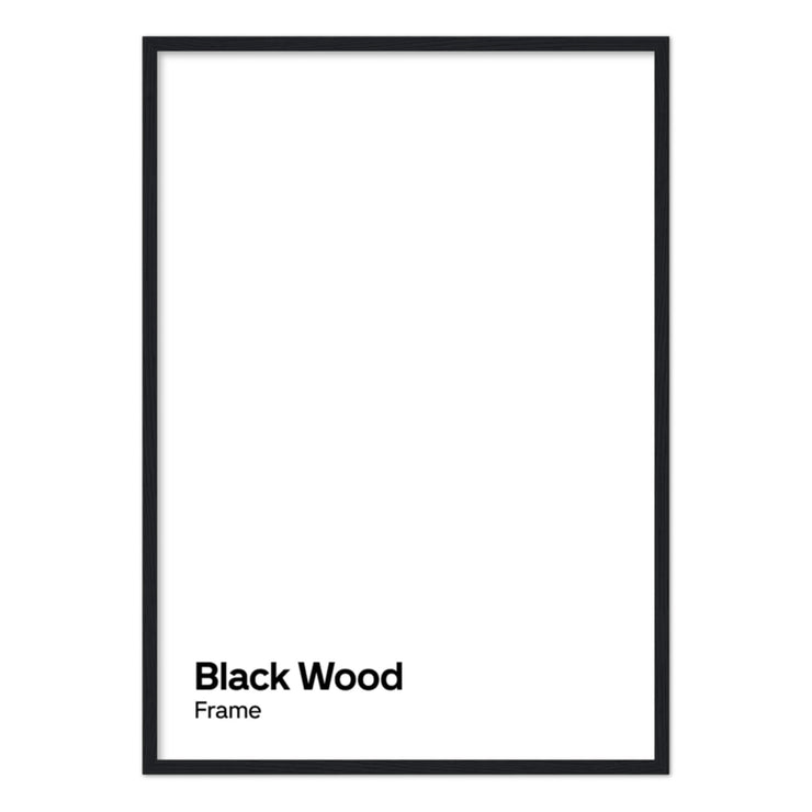 Frame for the 4k Weeks Poster (Free Shipping)