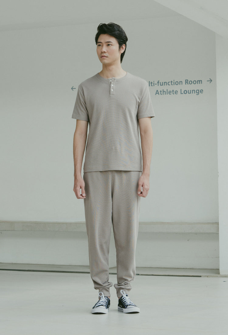 Load image into Gallery viewer, TAUPE BRIXTON JOGGER - The Waffle Jogger