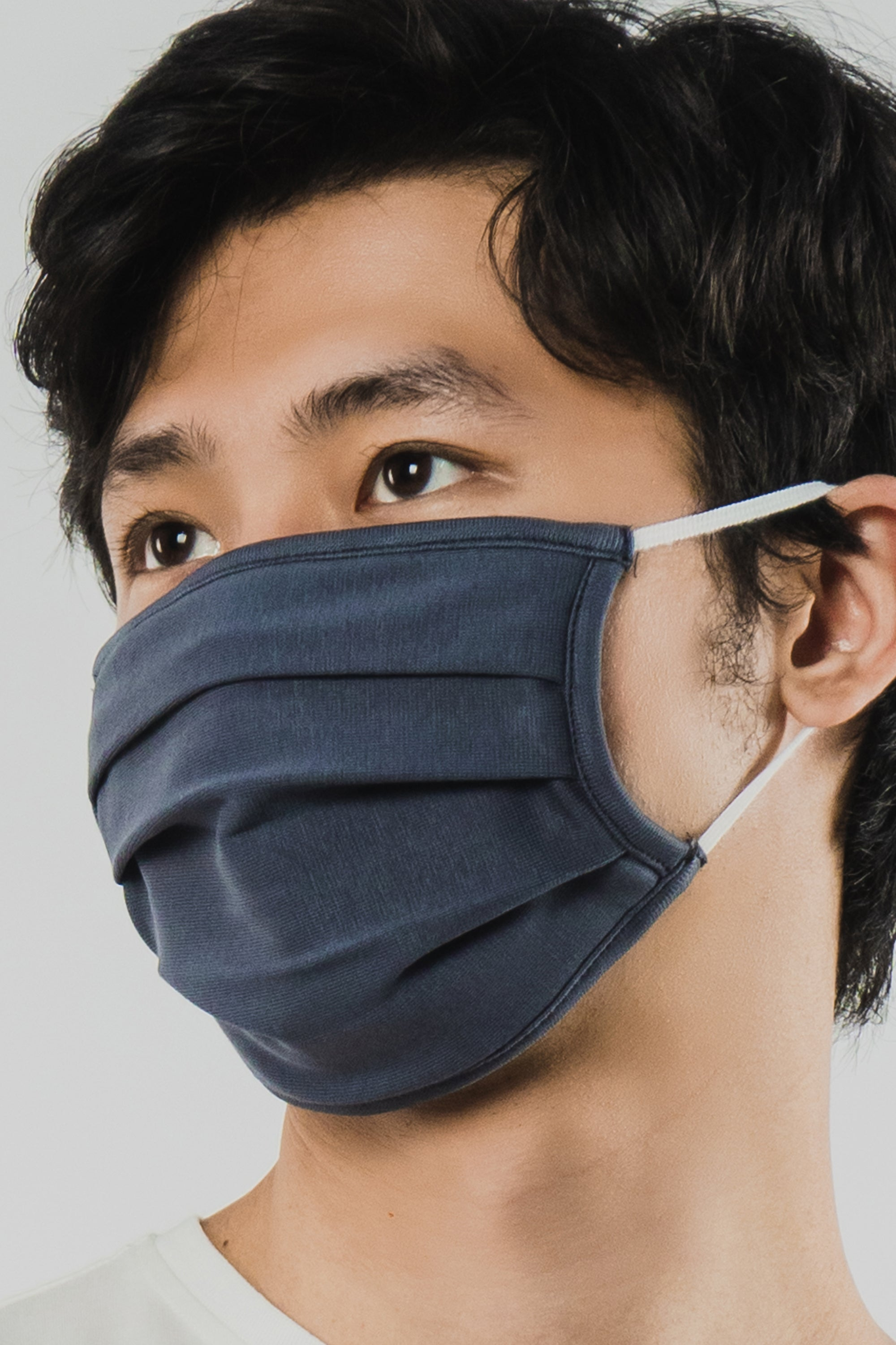 Load image into Gallery viewer, GREY FACE MASK - 2 Ply Cotton Mask