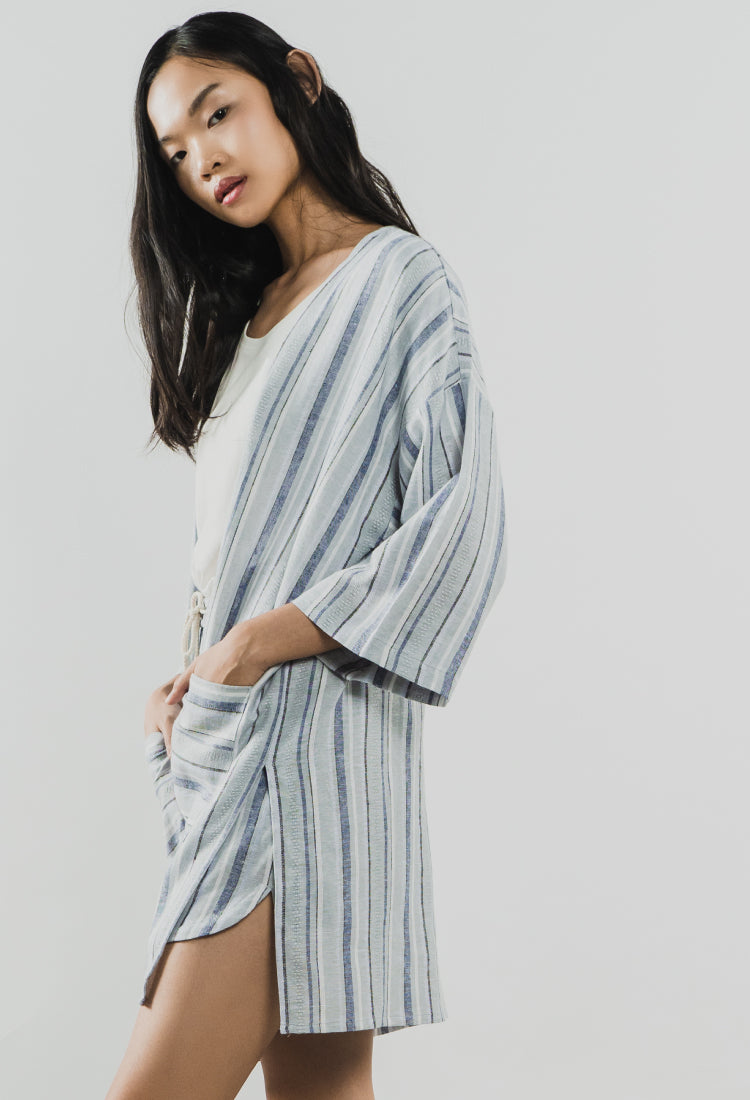 Load image into Gallery viewer, STRIPED DALIA - The Kimono