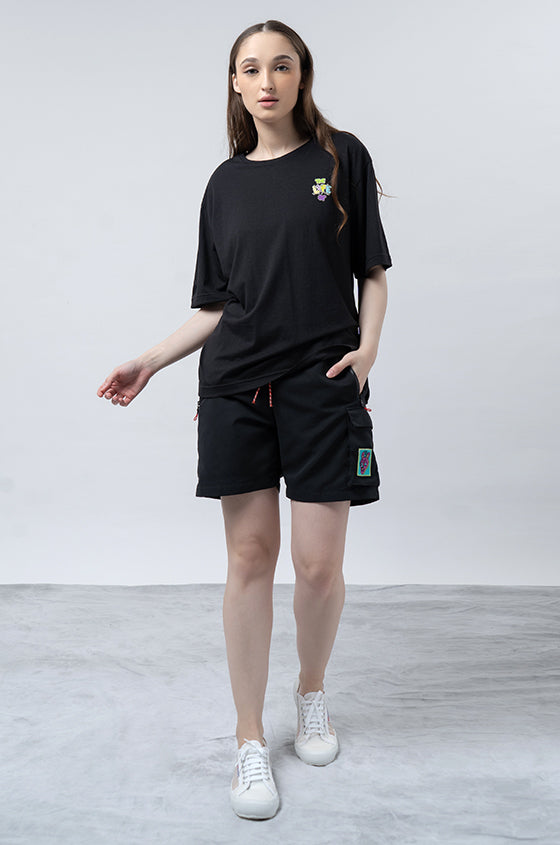 BLACK MUKLAY KARIS - The Big Pocket Shorts