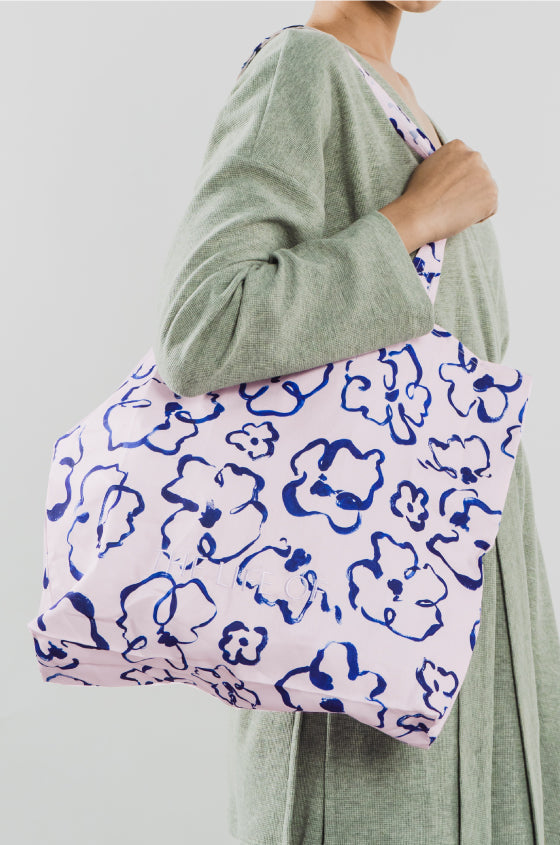FLORAL FOLDABLE BAG - The Lyocell Tote