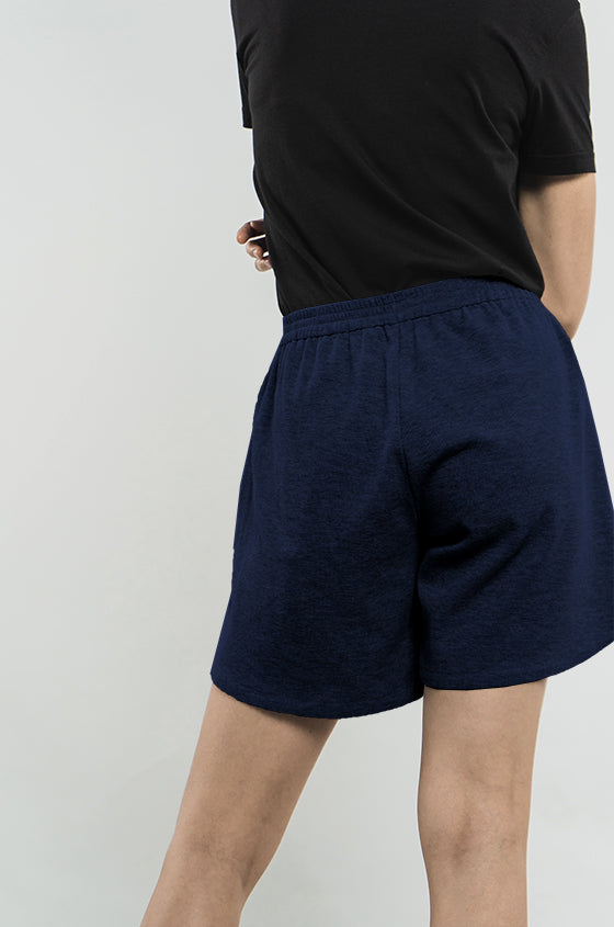 Load image into Gallery viewer, NAVY LIZ - The Cozy Shorts