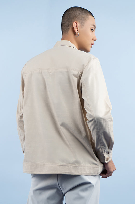 Load image into Gallery viewer, CREAM BRANDE - The Shirt Jacket