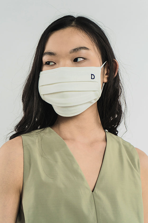 Load image into Gallery viewer, OFF-WHITE FACE MASK - 2 Ply Cotton Mask