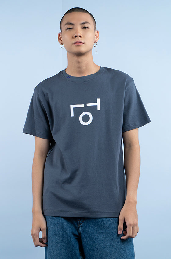 GREY MIDI TLO - The Premium Logo Tee