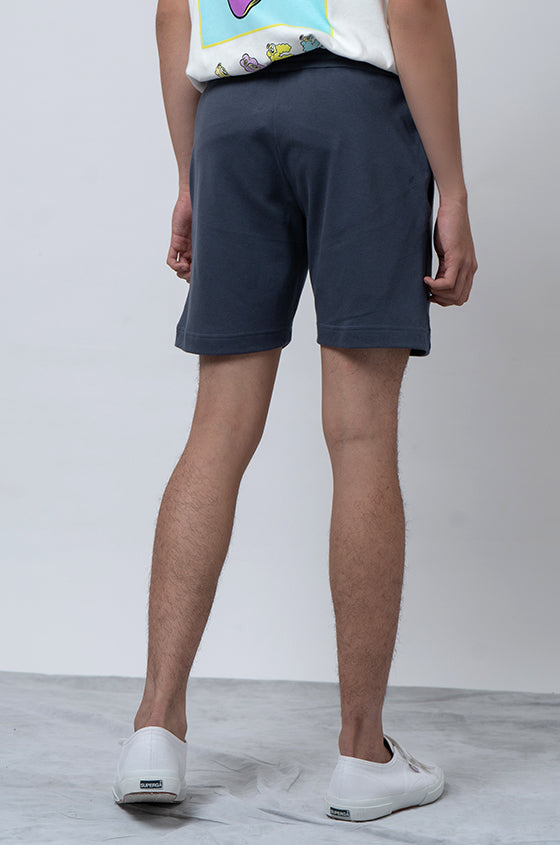 GREY MUKLAY STAD - The Premium Graphic Shorts