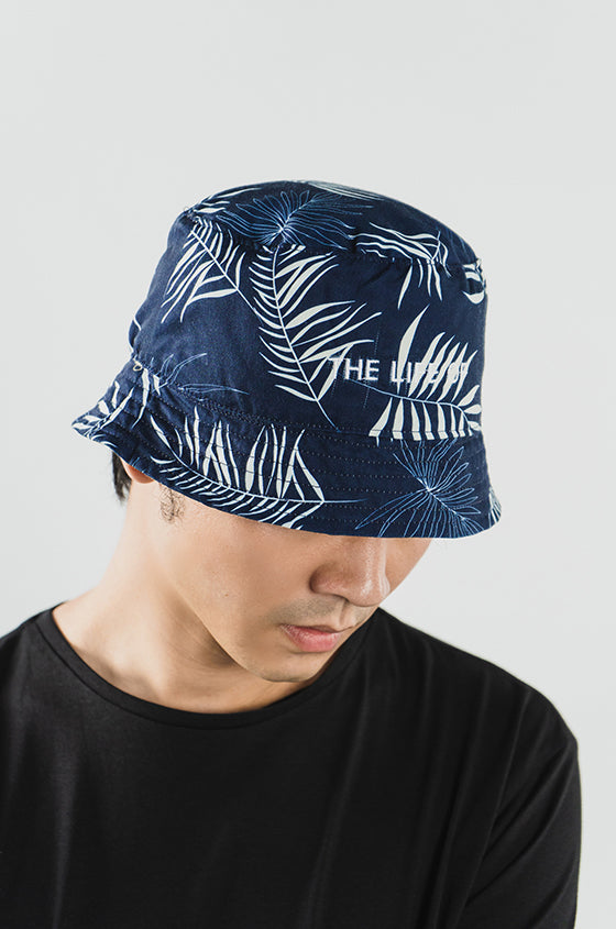 NAVY BUCKET HAT - The Reversible Lyocell Bucket Hat