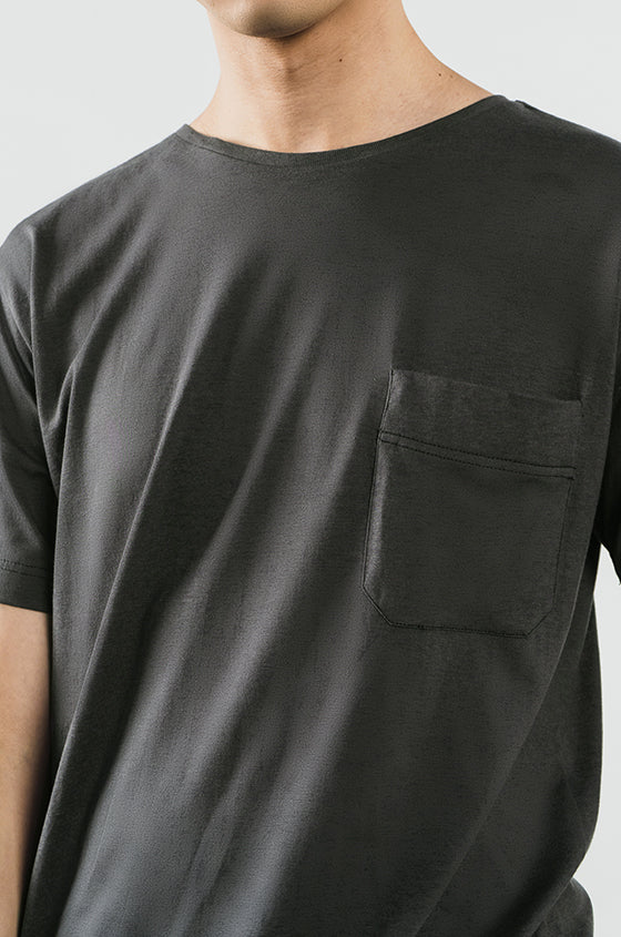 Load image into Gallery viewer, GREY JAMES - The Airy Pocket Tee