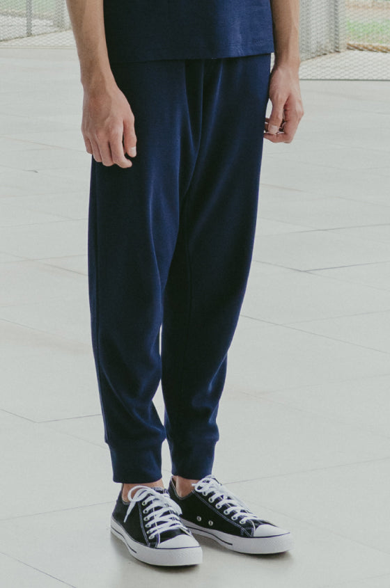 Load image into Gallery viewer, NAVY BRIXTON JOGGER - The Waffle Jogger