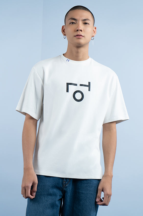 OFF-WHITE BIG TLO - The Premium Logo Tee