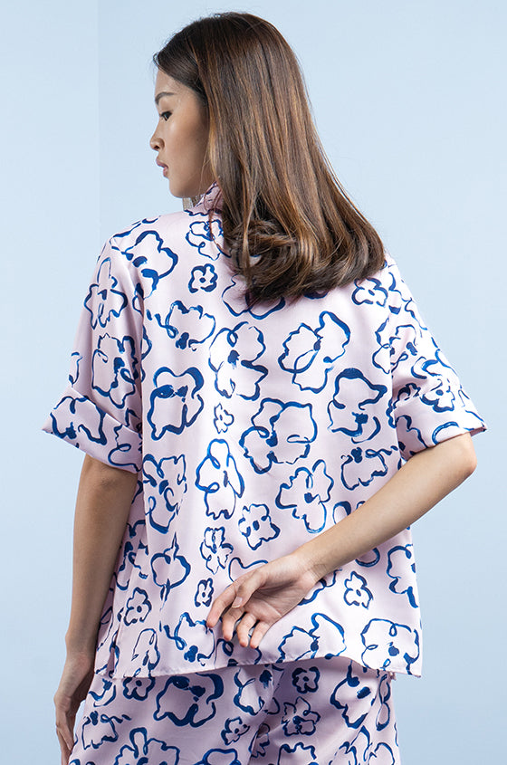 Load image into Gallery viewer, PINK LUND - The Lyocell Cuban Shirt