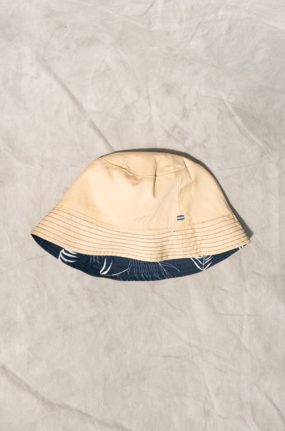 Load image into Gallery viewer, NAVY BUCKET HAT - The Reversible Lyocell Bucket Hat