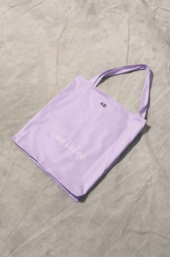 Load image into Gallery viewer, PURPLE THE LIFE OF FOLDABLE BAG