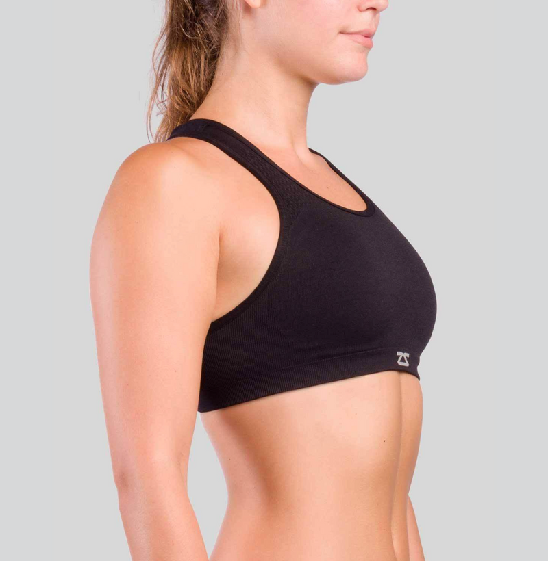 Seamless Sports Bra- Black