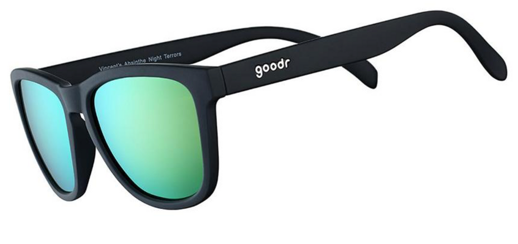 goodr Sunglasses in Vincent's Absinthe Night Terrors