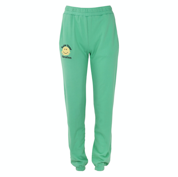 Boyfriend Sweatpants in Green Vibe