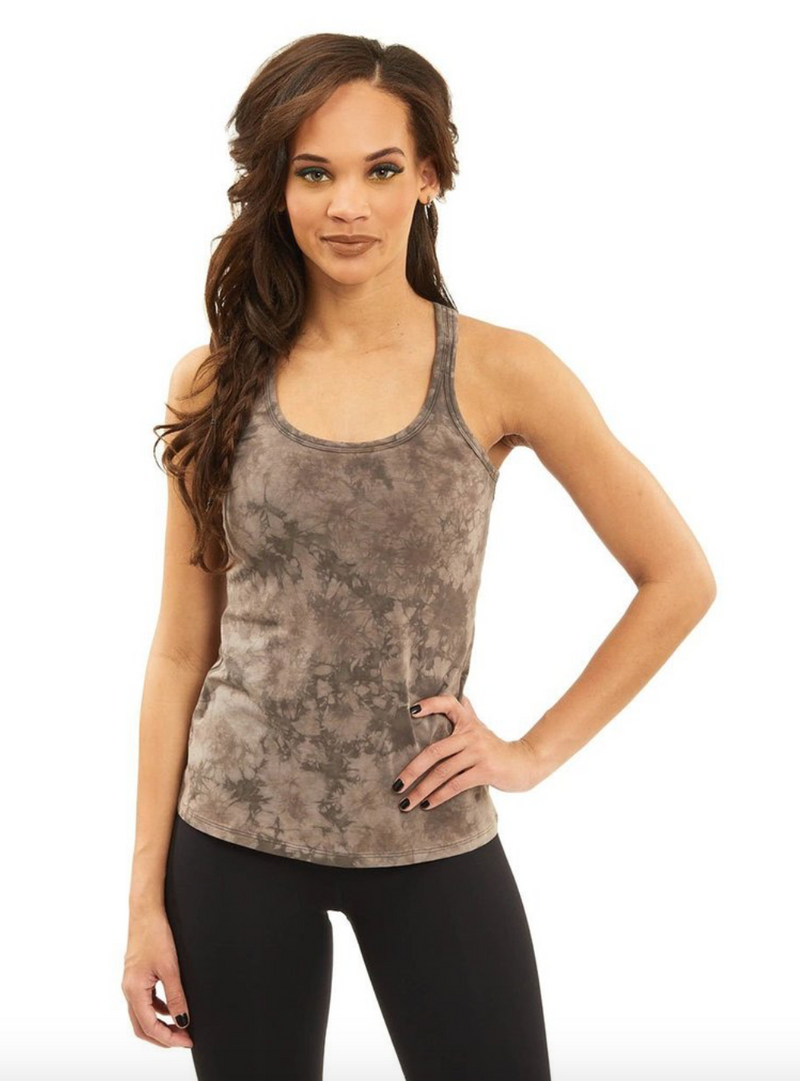 Stealie Tank in Gray Dye