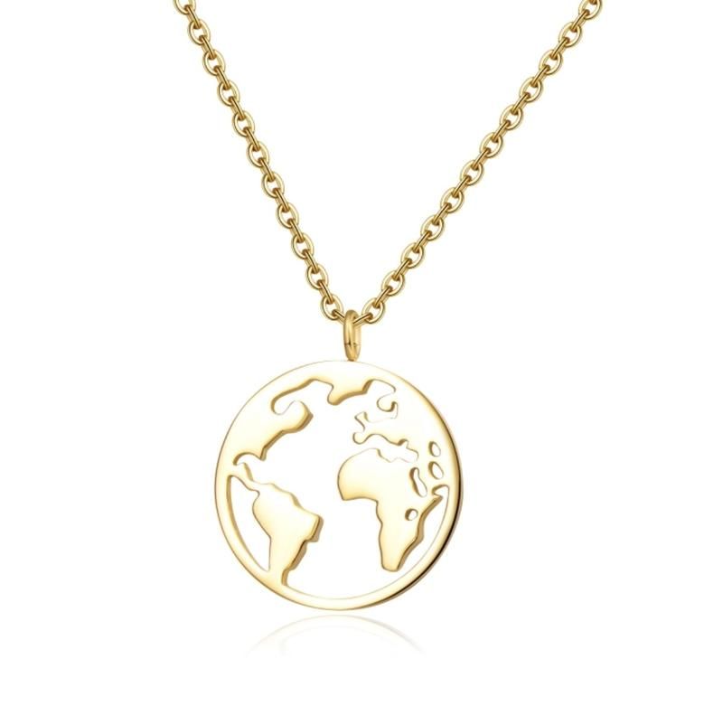 Golden World Necklace