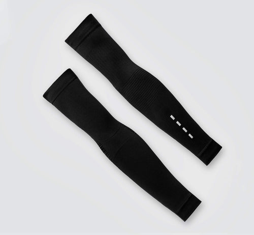 Knitted Arm Warmers Black