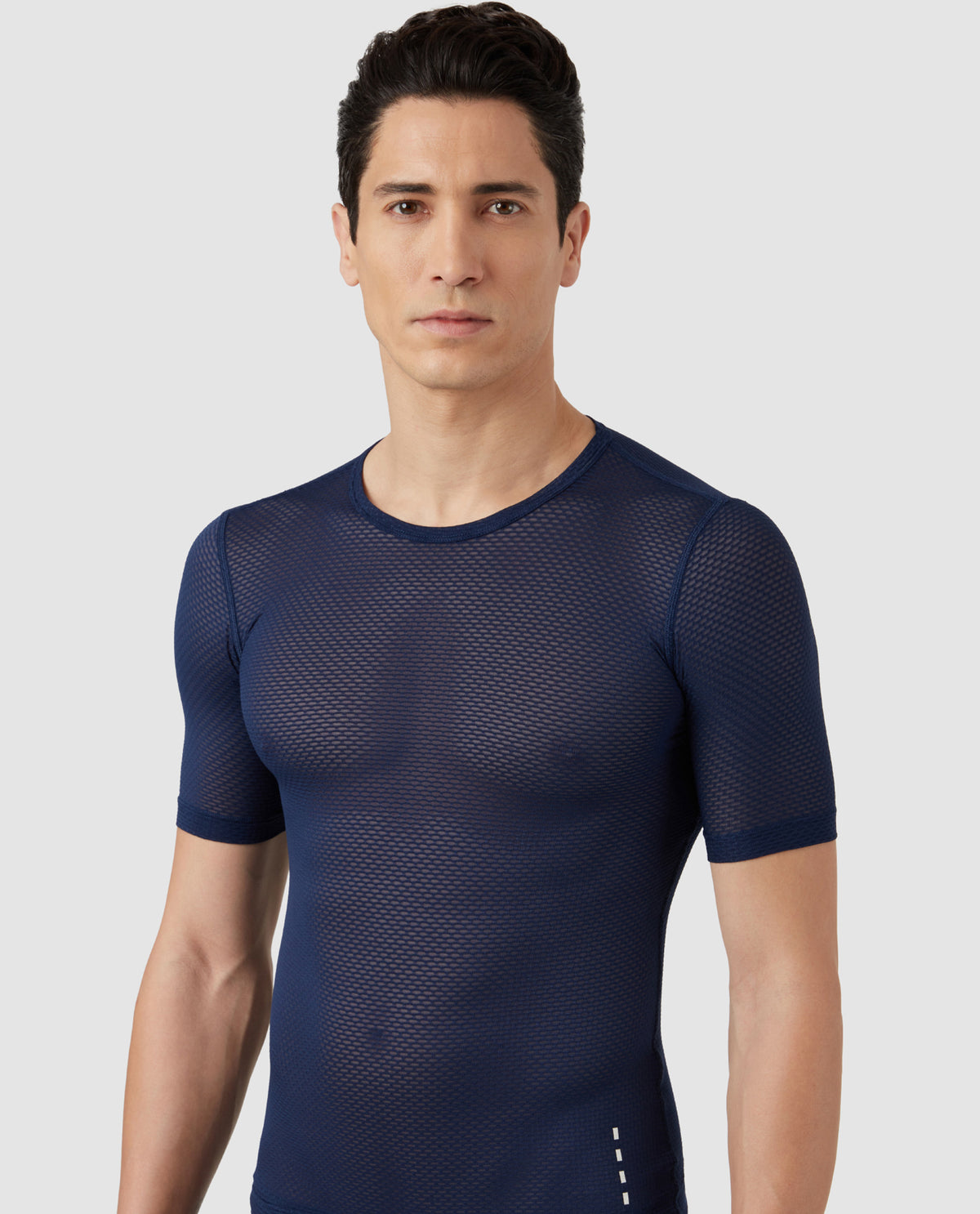 Mesh Base Layer Blue