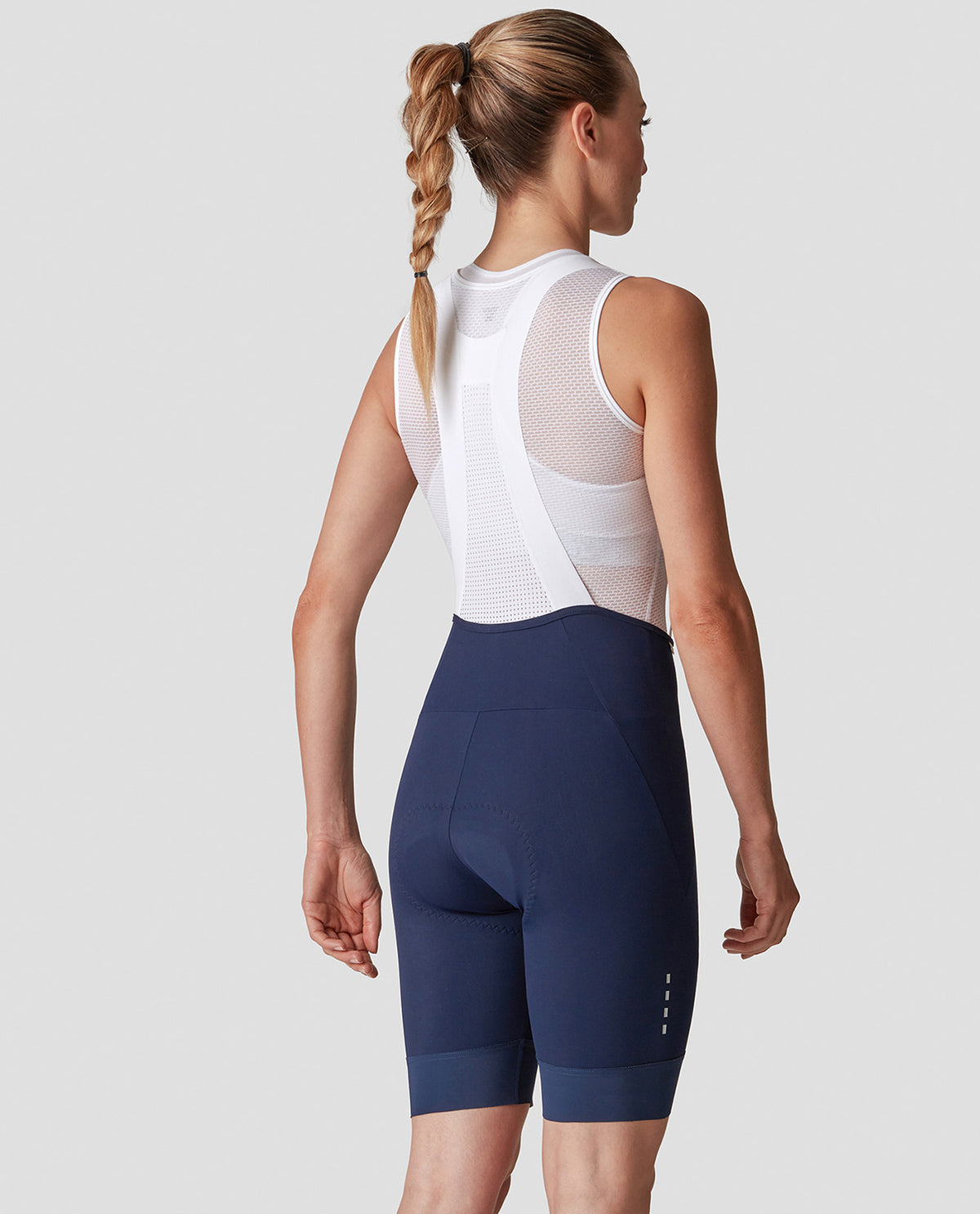 Grace Bib Shorts Blue Woman