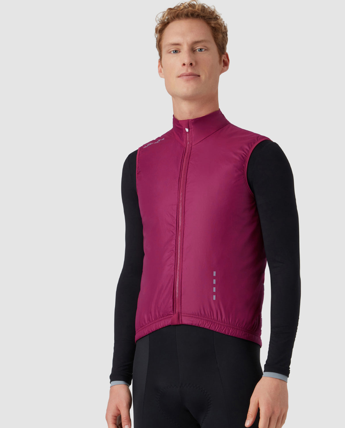 Insulated Alpha Gilet Virtus Red
