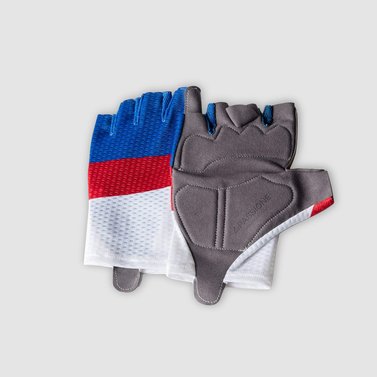 Livery Gloves White/Indigo