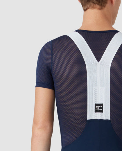 Minimal Bib Shorts Blue