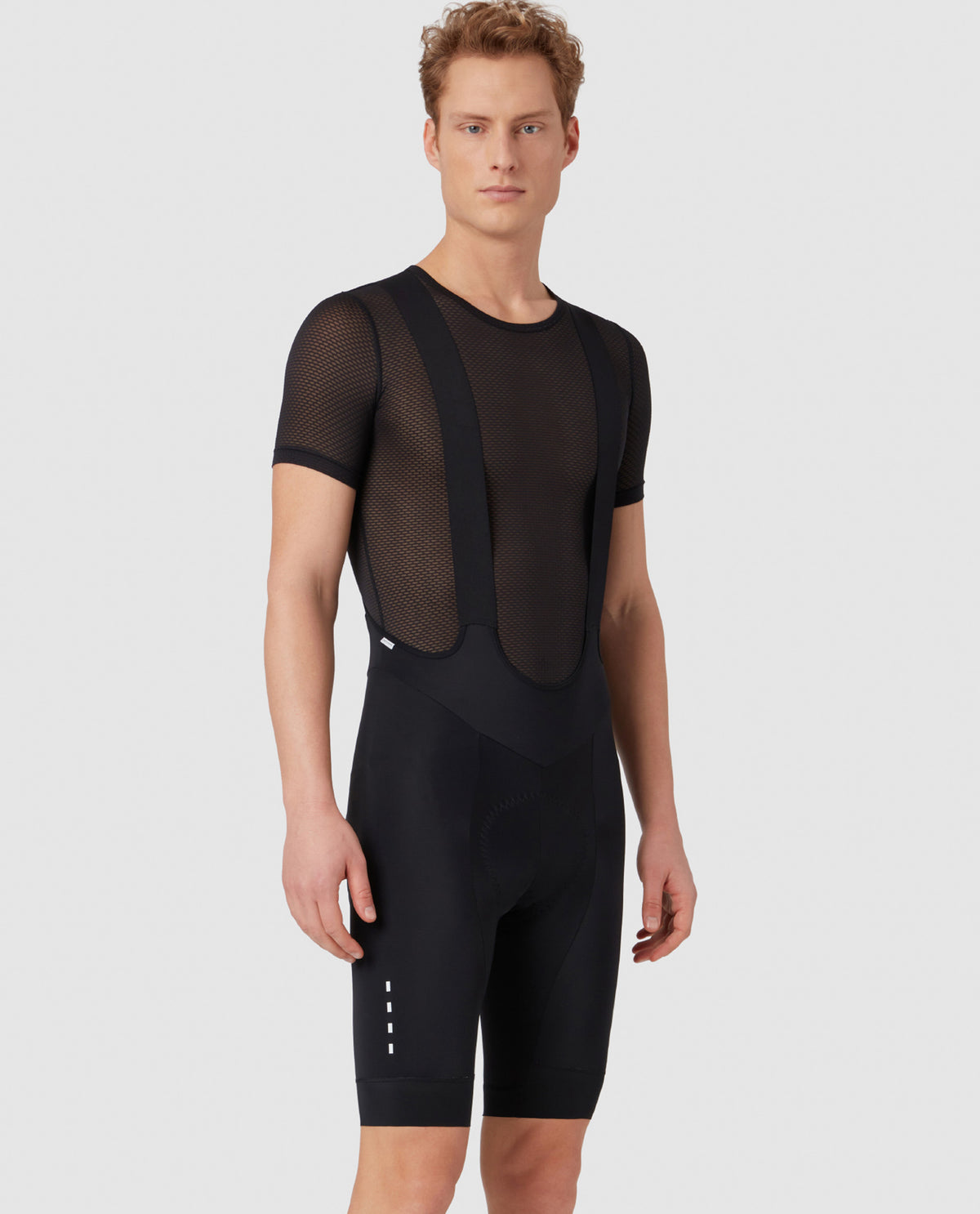 PSN Bib Shorts Black