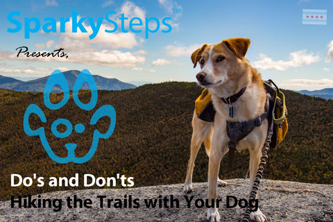 Sparky Steps - Do's and Don'ts of Hiking the Trails with Your Dog
