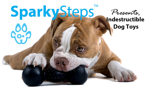 Sparky Steps - Indestructible Dog Toys