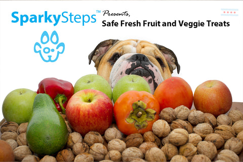 Sparky Steps - Safe Fresh Fruit and Veggie Treats