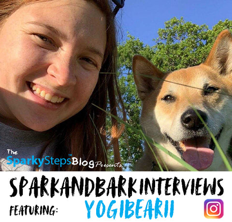 Article - yogibearii - Sparky Steps - SPARKandBARK INTERVIEWS