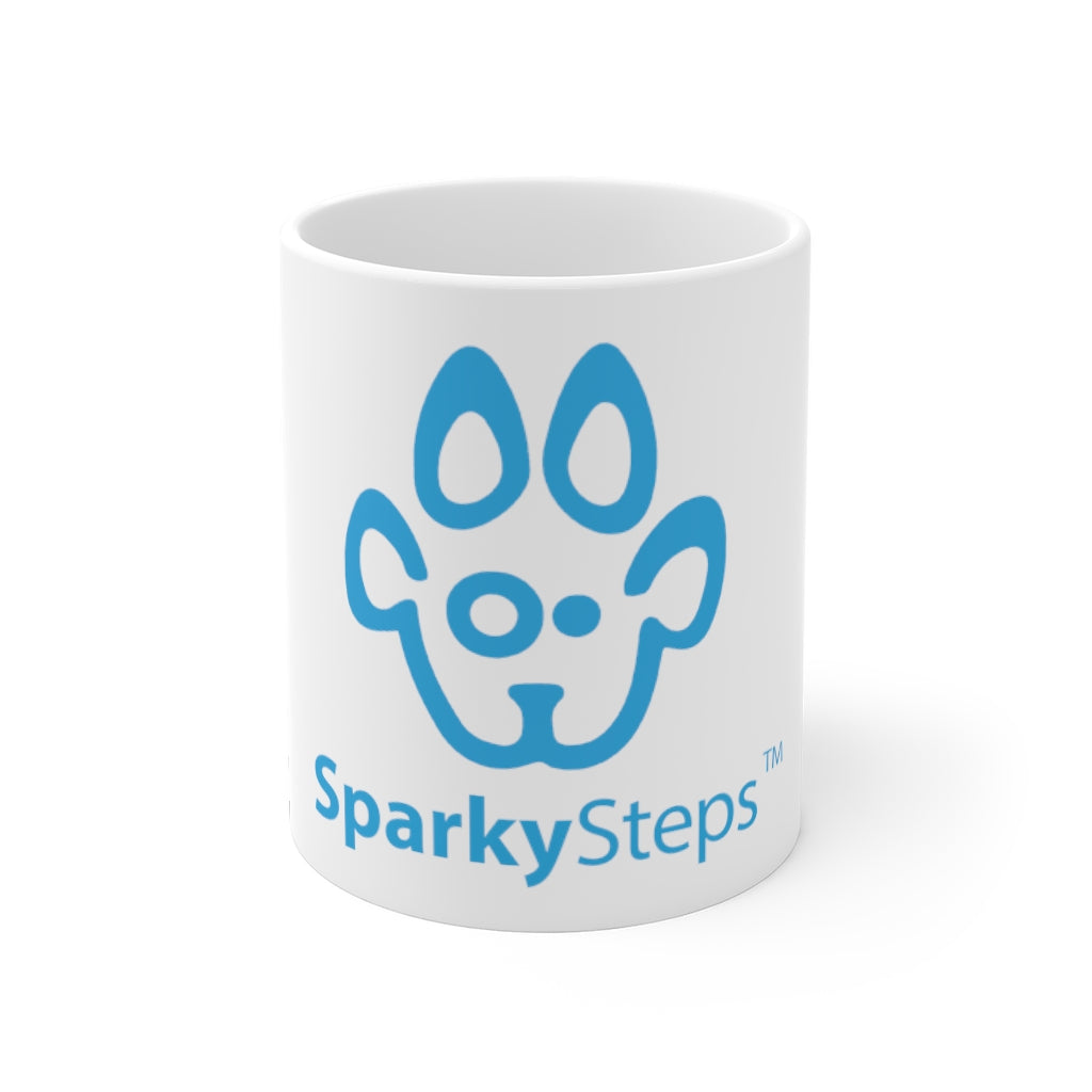 Sparky Steps Mug 11oz