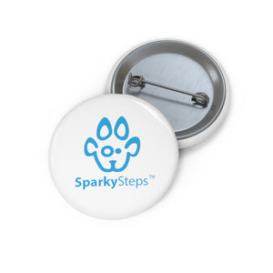Sparky Steps Pin Buttons