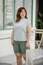 Load image into Gallery viewer, Mandy Bib Top in Sage