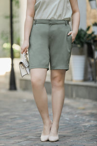 Nora City Shorts in Sage