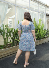 Load image into Gallery viewer, Bluebell Flutter Sleeve Sweetheart Dress
