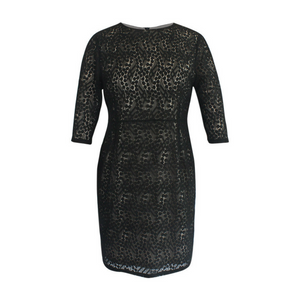 A Lacy Affair Dress in Black
