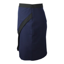 Load image into Gallery viewer, Colour Block Skirt in Black & Navy