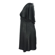 Load image into Gallery viewer, Cape Dress in Black