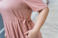 Load image into Gallery viewer, Ines Maxi Dress in Dusty Rose