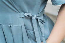 Load image into Gallery viewer, Ines Maxi Dress in Powder Blue