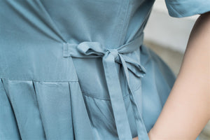 Ines Maxi Dress in Powder Blue