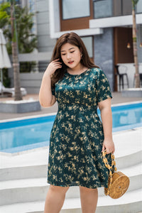 Esmeralda Empire Cut Dress