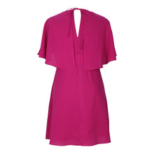 Load image into Gallery viewer, Cape Dress in Fuchsia